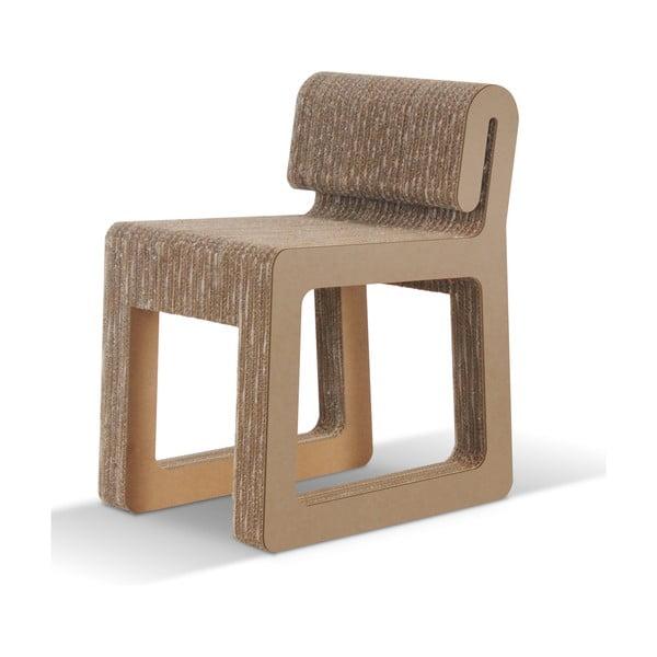 Kartónová stolička Hook Natural