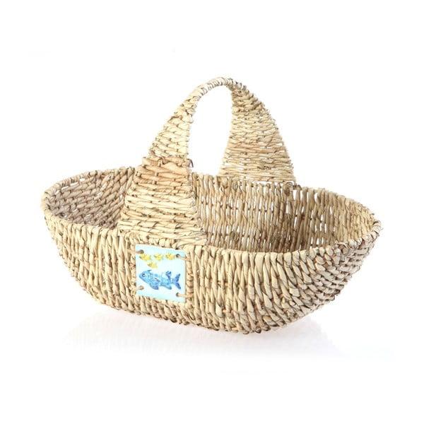Prútený košík Wicker Basket, 44 cm