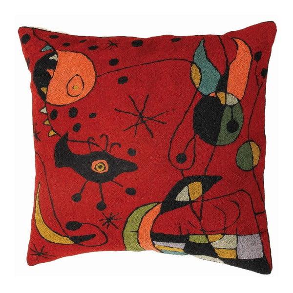 Obliečka na vankúš Miro Red, 45x45 cm