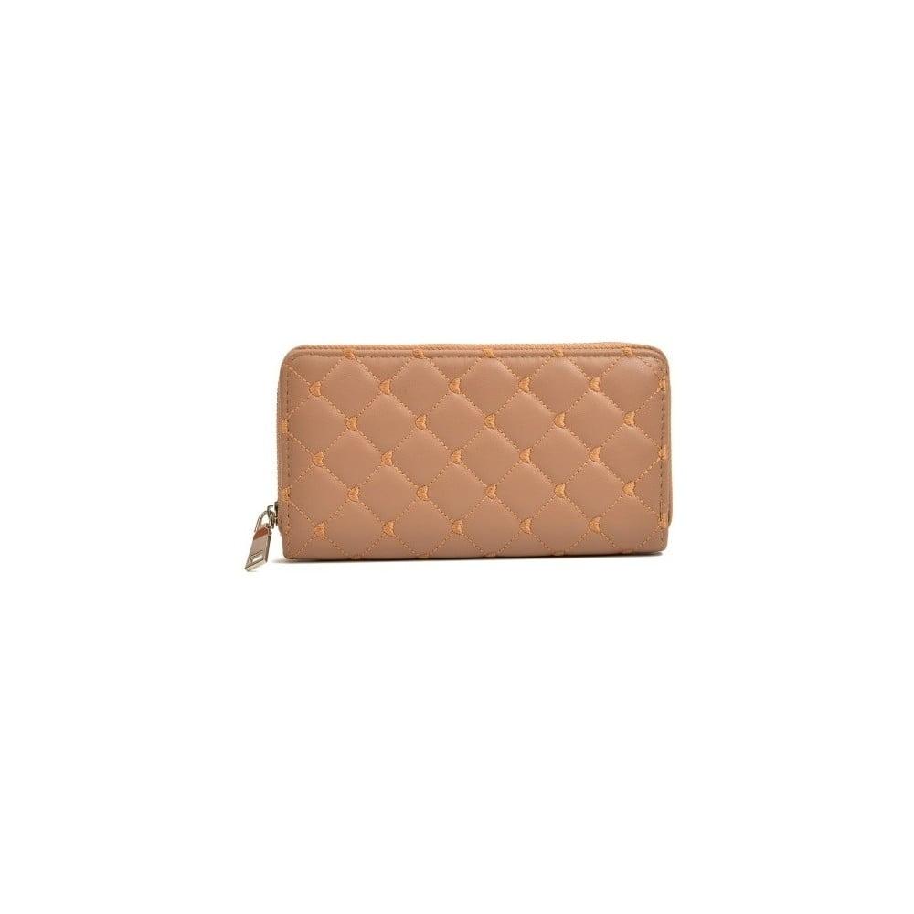 Svetlohnedá kožená peňaženka Roberta M Silvia