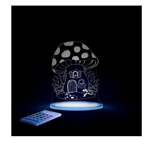Detské LED nočné svetielko Aloka Toadstool