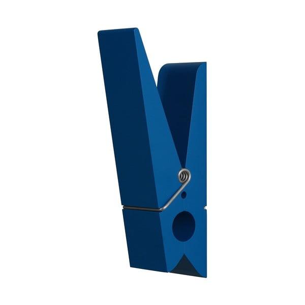 Modrý vešiak v tvare štipca Swab