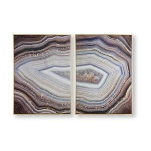 Sada 2 obrazov Graham & Brown Glamorous Gems, 50×70 cm