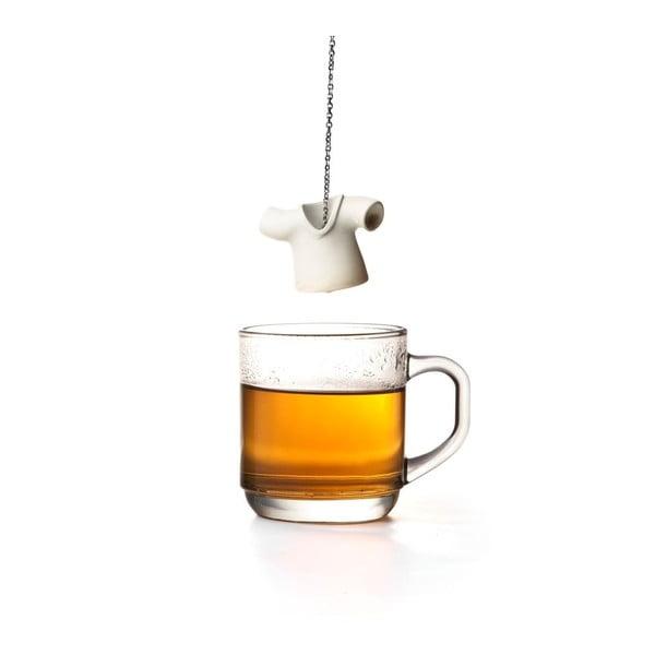 Biele čajové sitko Qualy Tea Shirt