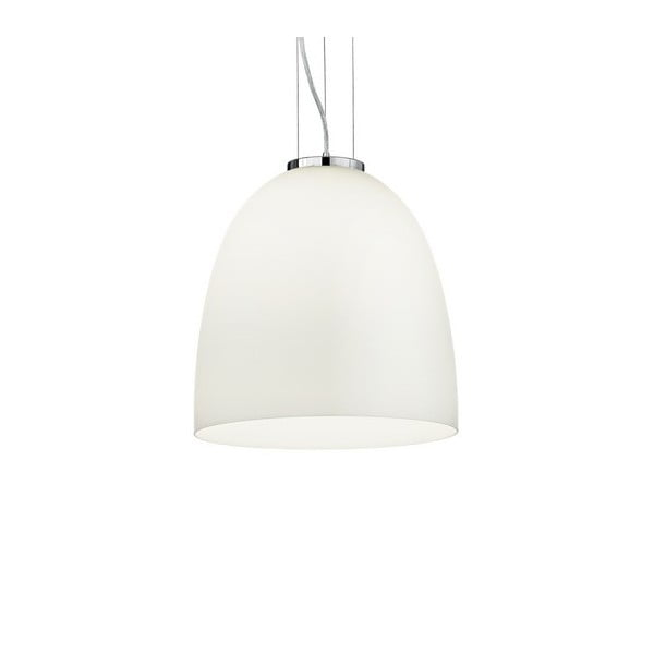 Biele závesné svietidlo Evergreen Lights Eva White