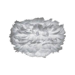 Sivé tienidlo z husieho peria VITA Copenhagen EOS, Ø35 cm