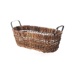 Prútený košík Oval Wicker, 47 cm
