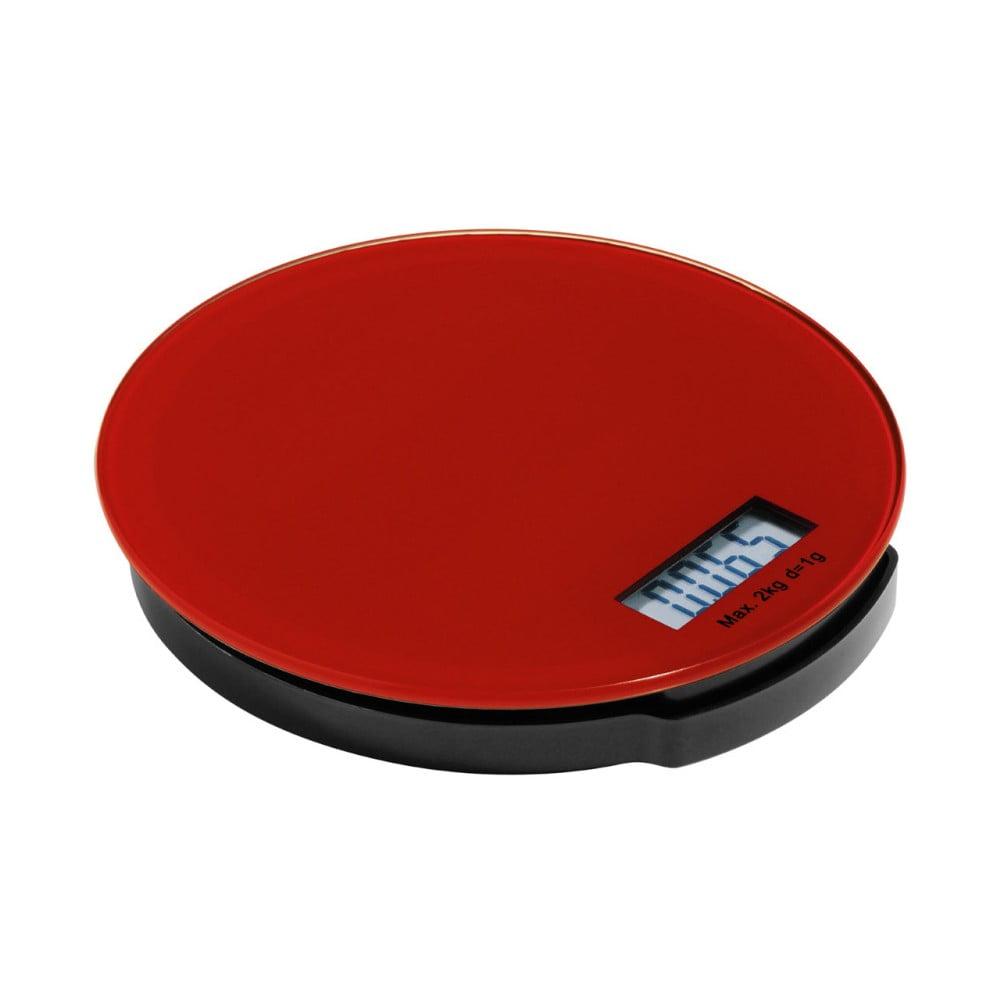 Červená kuchynská digitálna váha Premier Housowares Zing