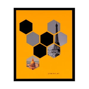 Obraz sømcasa He×ag, 25×30 cm