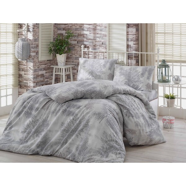Obliečky s plachtou Sedir Grey, 200x220 cm