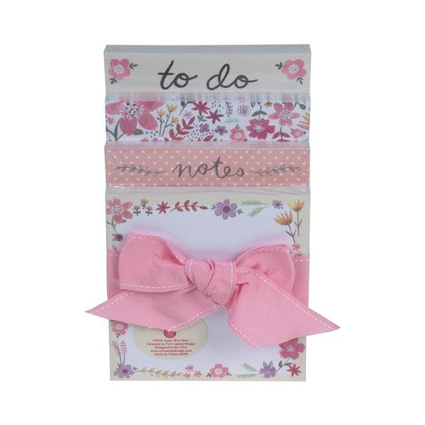 Sada bločkov Tri-Coastal Design Pink Bow