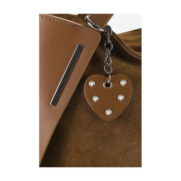 Kožená kabelka Giorgio Costa 15012 Cognac