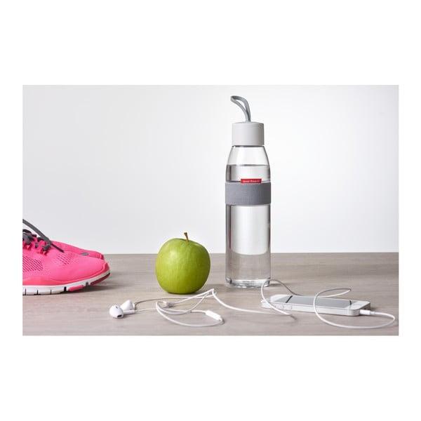 Ružová fľaša na vodu Rosti Mepal Ellipse, 500 ml