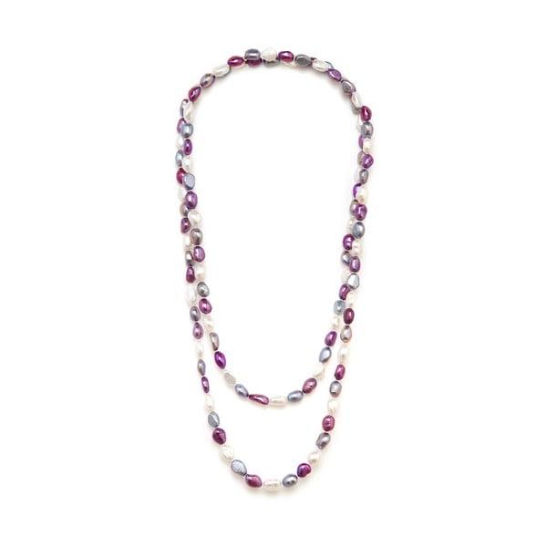 Farebný perlový náhrdelník GemSeller Polygala