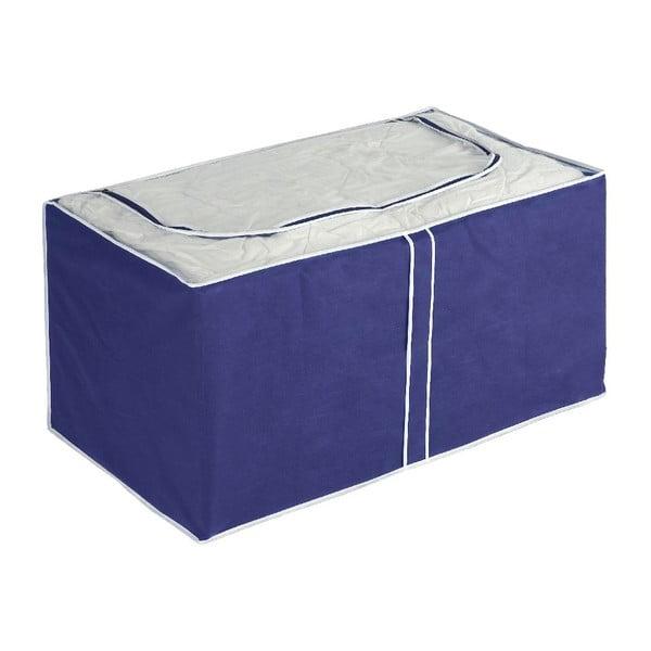Modrý úložný box Wenko Ocean, 48x53cm