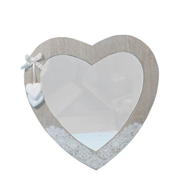 Zrkadlo Bolzonella v tvare srdca