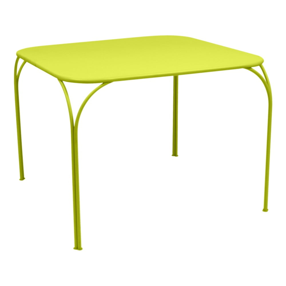 Zelený záhradný stolík Fermob Kintbury