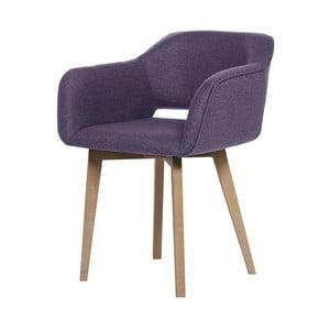 Fialová jedálenská stolička My Pop Design Oldenburg