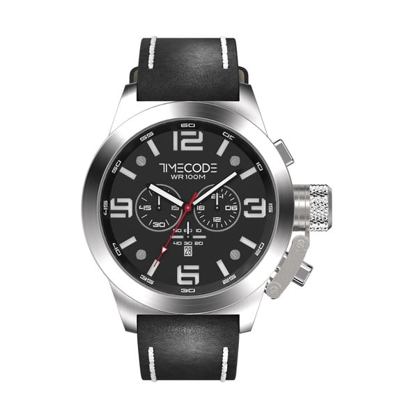Pánske hodinky Nations 1945, Metallic/Black