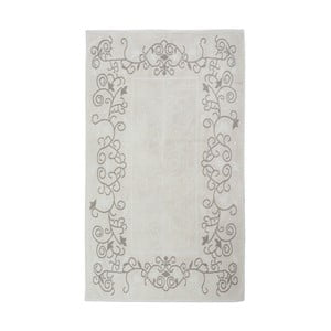 Hnedo-béžový koberec Ohena, 60 × 90 cm