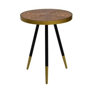 Konferenčný stolík s doskou v dekóre orechového dreva RGE Facett, výška 55 cm
