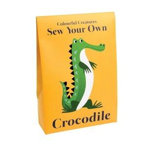 Sada na ušitie hračky Rex London Harry the Crocodile