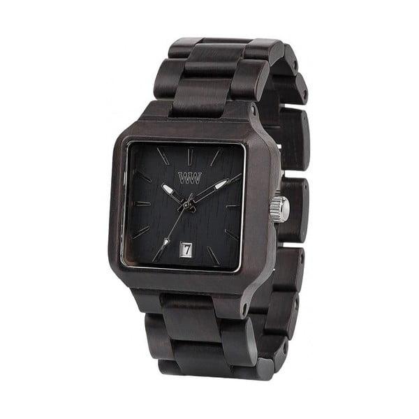 Drevené hodinky Metis Black