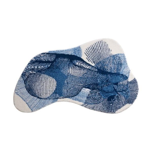 Kúpeľňová predložka Kolor My World XV 90x150 cm, modrá