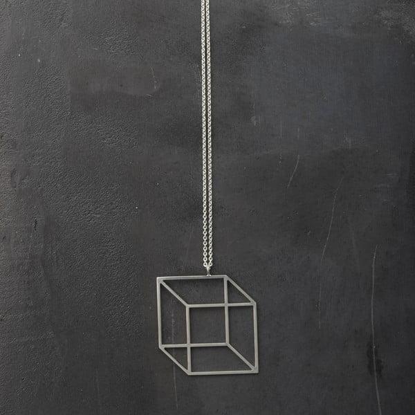 Náhrdelník Cube Silver z kolekcie Geometry