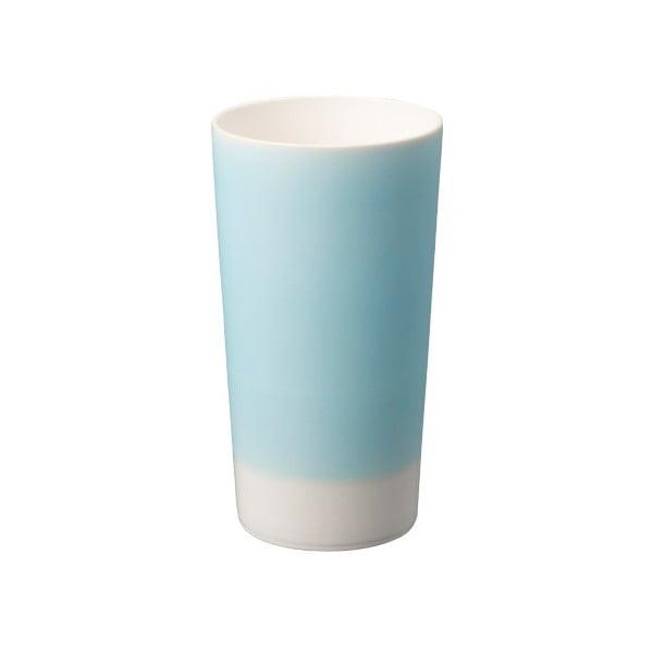Modrý porcelánový pohár na pivo Kinto Tumbler