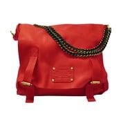 Červená kožená kabelka Sleazy Jane