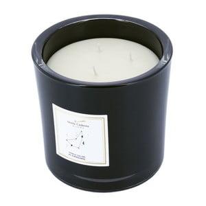 Vonná sviečka v čiernom skle s vôňou vanilky a klinčeka Stella Cadente Kozoroh