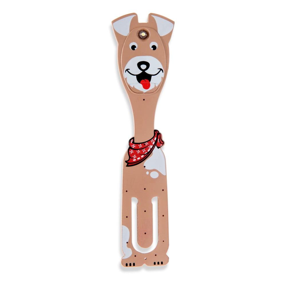 LED lampička na čítanie Thinking gifts Flexilight Dog