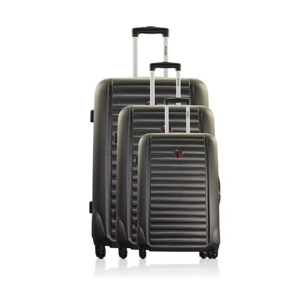 Sada 3 cestovných kufrov  Stokholm