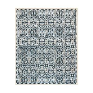 Vlnený koberec Marina Navy, 243x304 cm