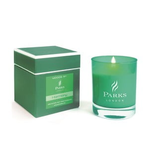 Sviečka s vôňou citrusov Parks Candles London Moods Green, 50 hodín horenia