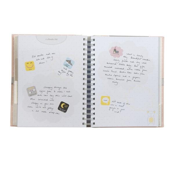 Knižka pre syna Baby Journal
