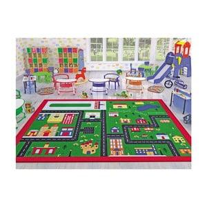 Detský koberec Town, 100 x 150 cm