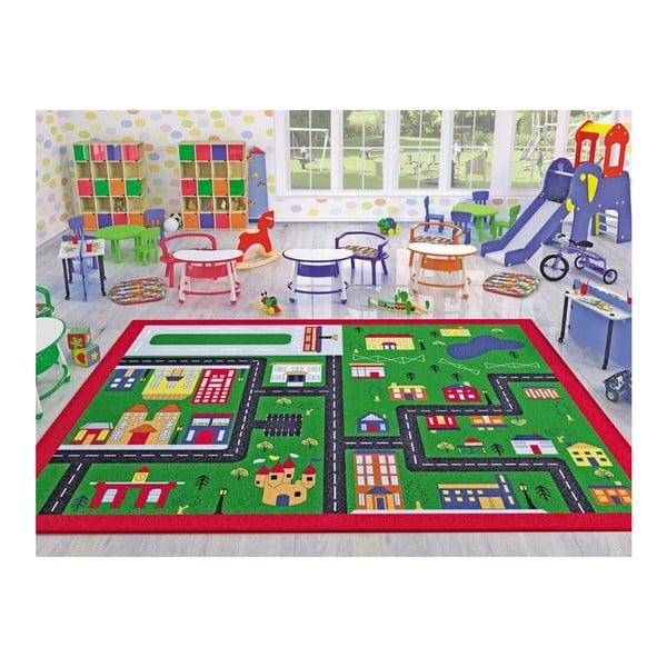 Detský koberec Town, 100×150 cm