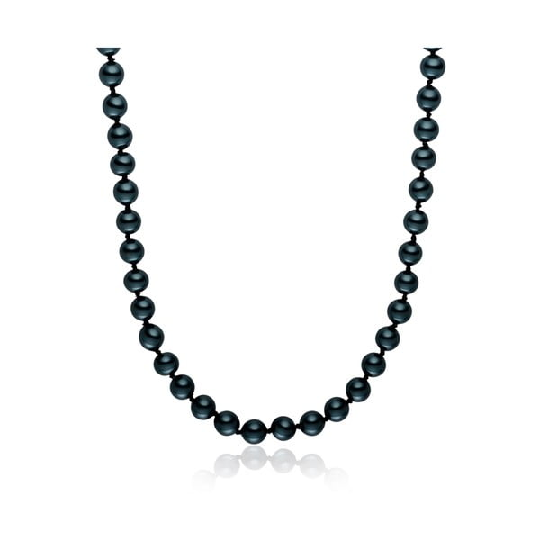 Perlový náhrdelník Mystic Dark Blue, 50 cm