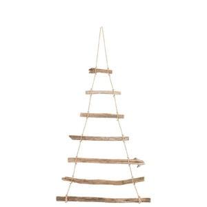Závesná drevená dekorácia J-Line Hang, šírka 57 cm