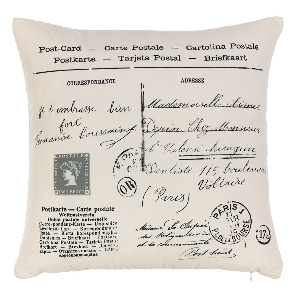 Obliečka na vankúš Apolena Postcard, 43 × 43 cm