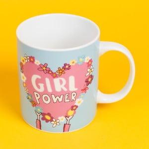 Keramický hrnček Happy News Girl Power, 400 ml