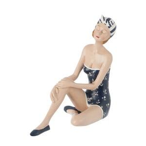Dekoratívny objekt Sitting Woman in Swimsuit