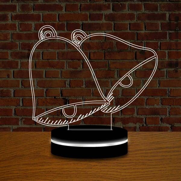 Lampa s 3D efektom Christmas no. 1
