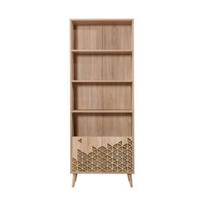 Knižnica Booki, 198×75 cm