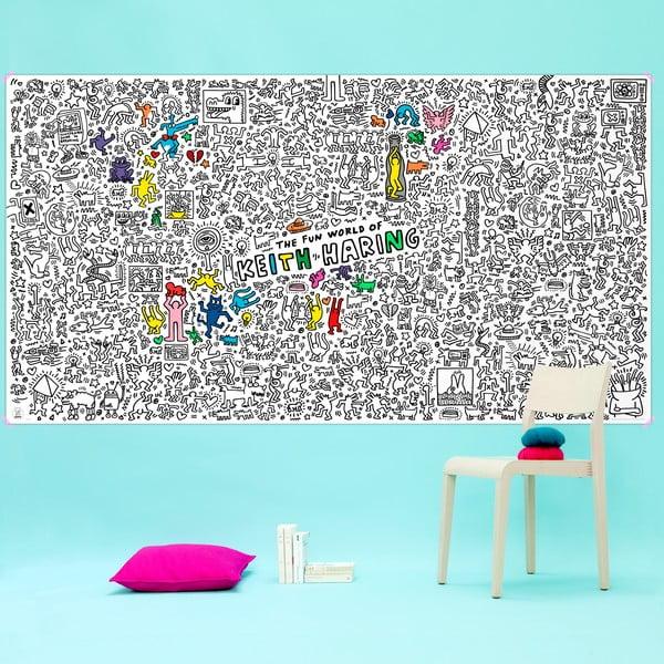 Maľovanka Keith Haring, XXL (180 x 100 cm)