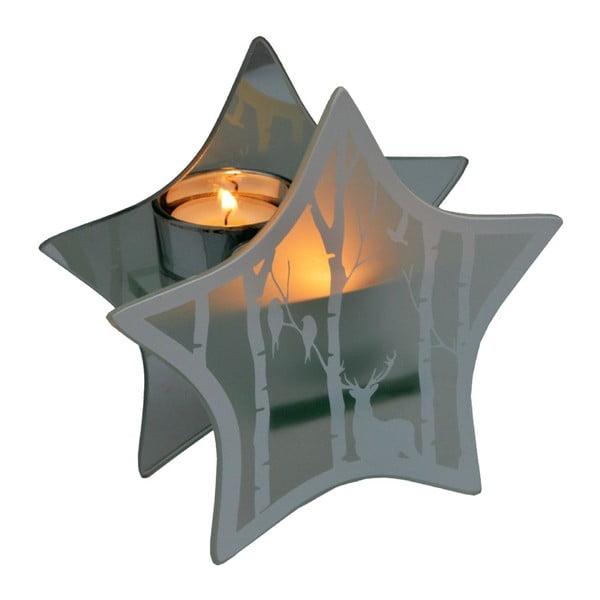 Stojan na sviečku Reindeer Star