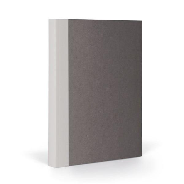 Zápisník FANTASTICPAPER A5 Stone/Warm Grey, štvorčekový