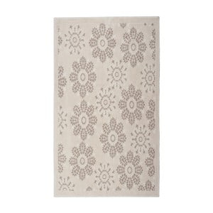 Krémový bavlnený koberec Floorist Randa, 80x150cm